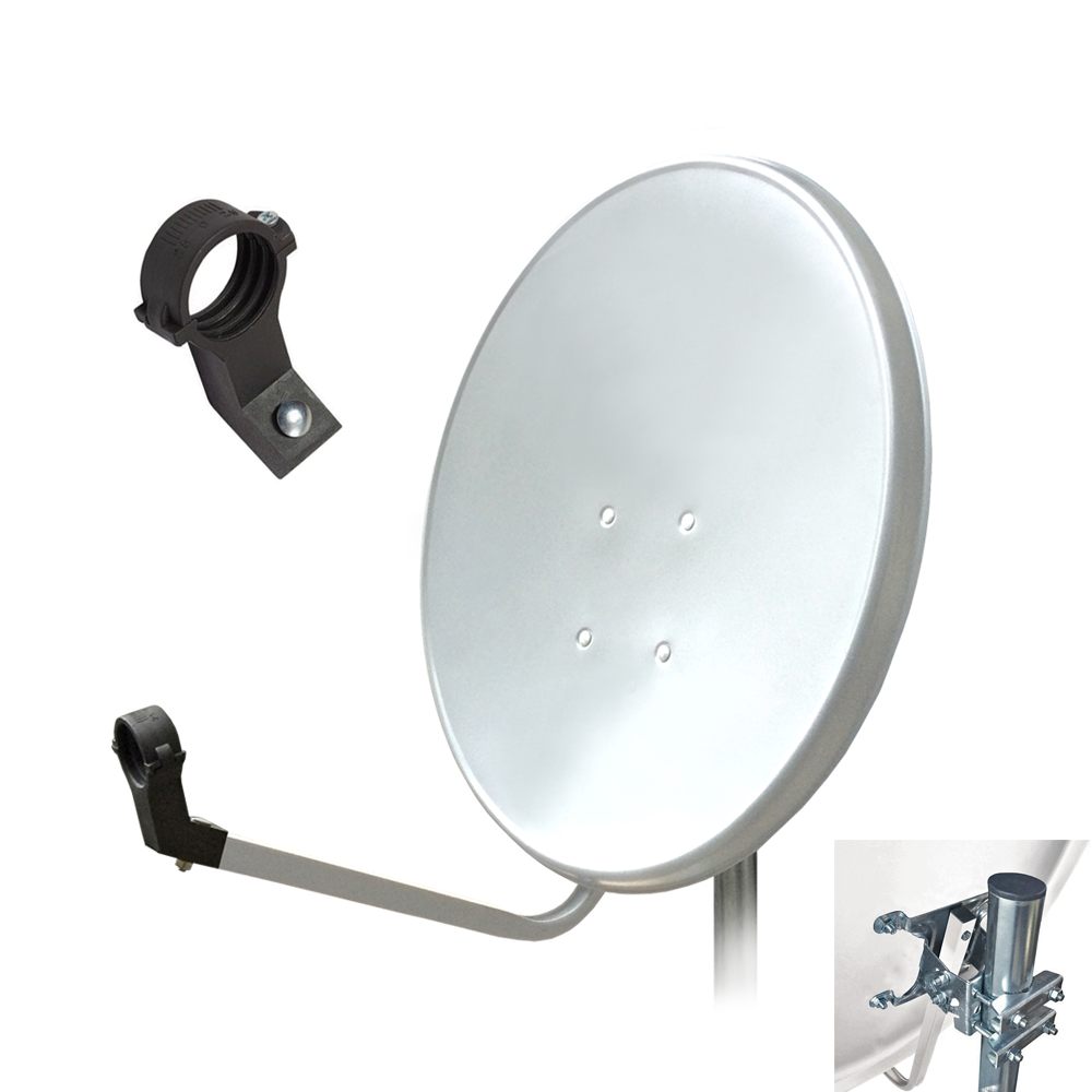 hd sat antenne 80 cm anlage digital satellitensch ssel sch ssel spiegel 4k arli ebay. Black Bedroom Furniture Sets. Home Design Ideas