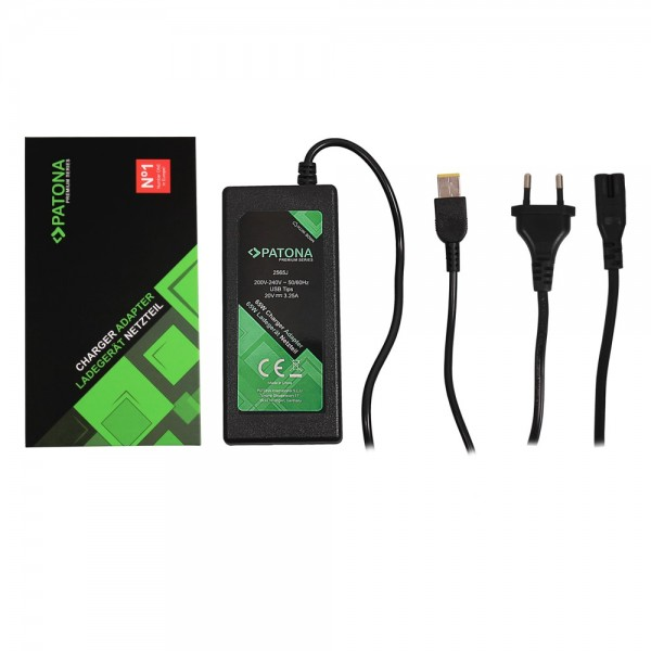 PATONA Premium Netzteil 20V 3,25A 65W Slim-Tip slim tip für Lenovo T540p T440 X240 X1 Carbon arli edge notebook laptop thinkpad yoga dual-core ThinkPad Think Pad x1 carbo 20v 65w