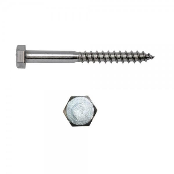 Sechskantschraube 8 x 60 mm Stahl verzinkt DIN 571 ( 1 Stück )