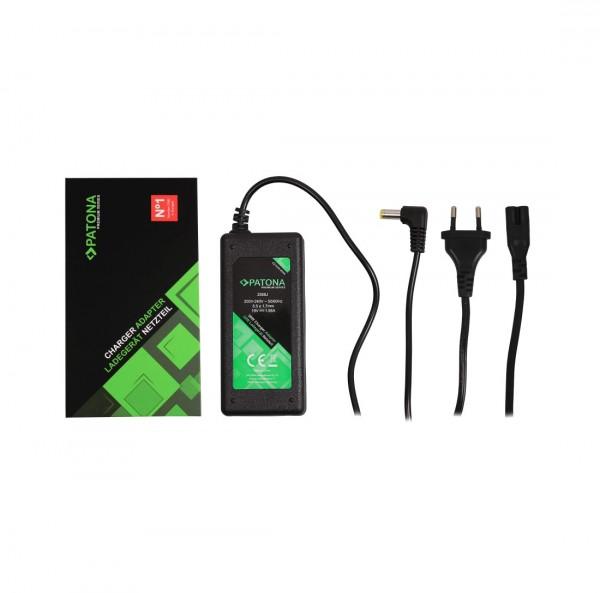 PATONA Premium Netzteil 19V 1,58A 30W für Acer Aspire One A110 A110L A150 A150L A150X