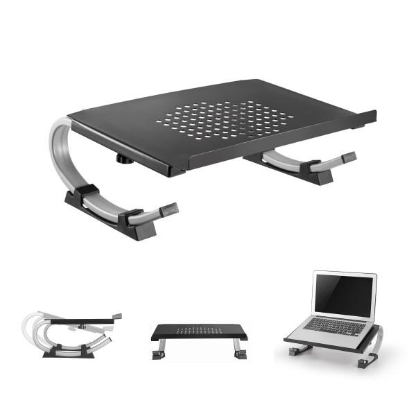 Notebook Ständer Laptop Halterung 13 - 32 Zoll ( 33 - 81 cm ) Multi-Winkel verstellbar neigbar höhen