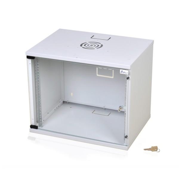 "ARLI 9U Netzwerkschrank 9HE Wandgehäuse 19"" Serverschrank"