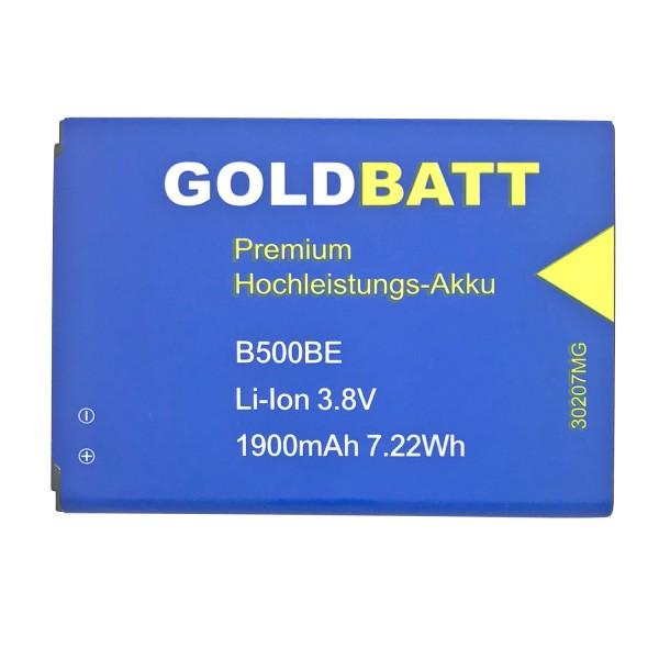 Goldbatt Akku für Samsung Galaxy S4 mini ( I9190 ) GTi9190 GT-i9190 GTi9192 CS-SMI257XL Duos