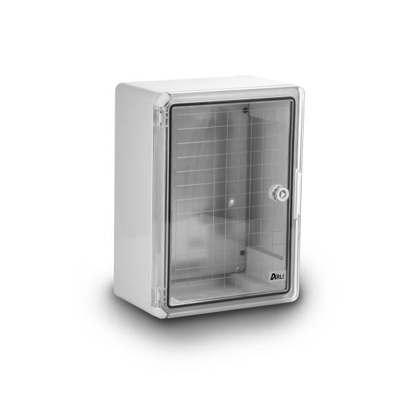 ARLI Kunststoff Schaltschrank IP65 mit Sichttür - 250 x 350 x 150 mm