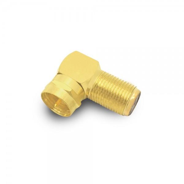 ARLI F - Winkeladapter vergoldet