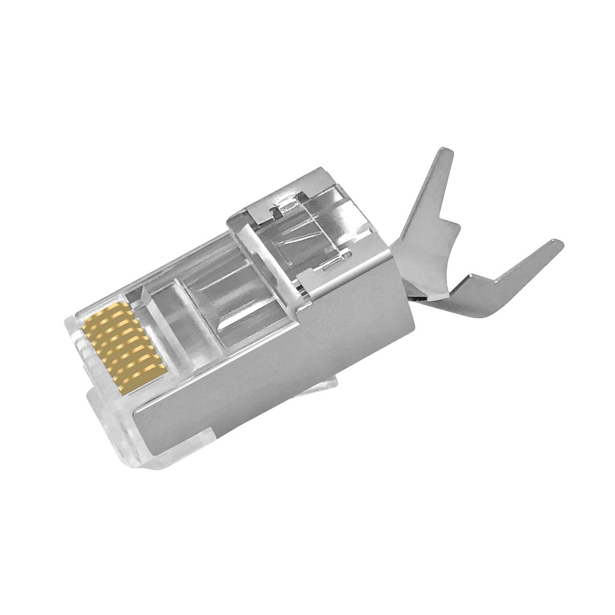 rj45 stecker arli netzwerkkabel lan kabel verbinder rj 45 kat cat 7 6a 6 awg23 8polig 8 polig. Black Bedroom Furniture Sets. Home Design Ideas