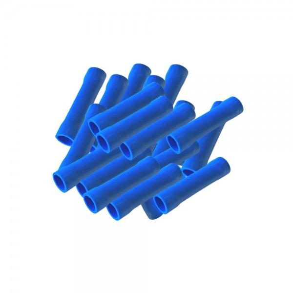 arli Stossverbinder Kabelschuhe crimpzange 0,5 1,0 1,5 2,5 4 6 Flachsteckhülsen set 100 blau handcrimpzange kabel schuhe quetschverbinder krimpzange stossverbinder verbinder flachsteckhülse crimp zange kabelverbinder