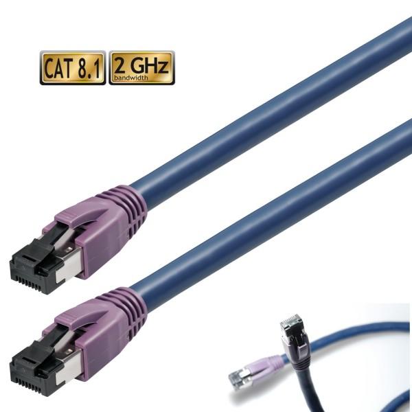 Cat 8.1 Patchkabel 2 m Cat8 Patch Kabel Netzwerkkabel RJ45 LAN CAT 8 Netzwerk Rj45 2m Kabel